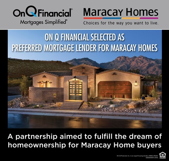 On Q Financial Selected as Preferred Mortgage Lender for Maracay Homes