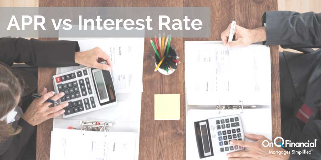 APR vs Interest Rate Home Loan