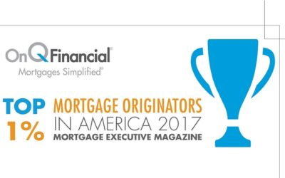 On Q Awarded Top Loan Originators by Mortgage Executive Magazine