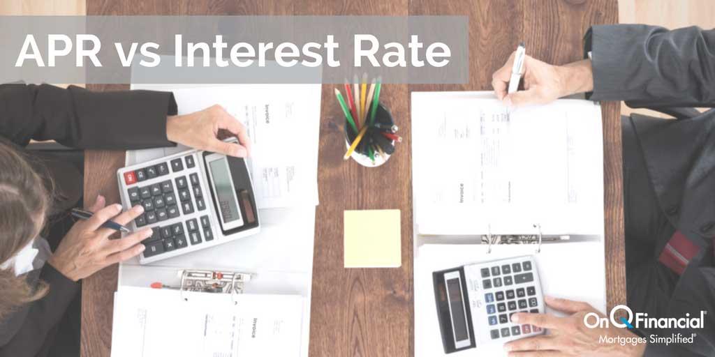 购房贷款指标对比:APR vs 利息率