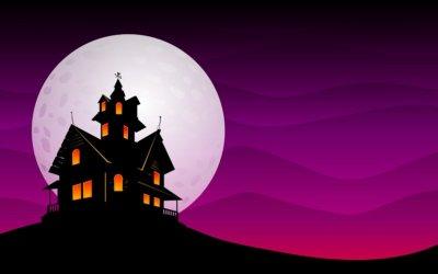 13 of the Spookiest Halloween Homes Ranked