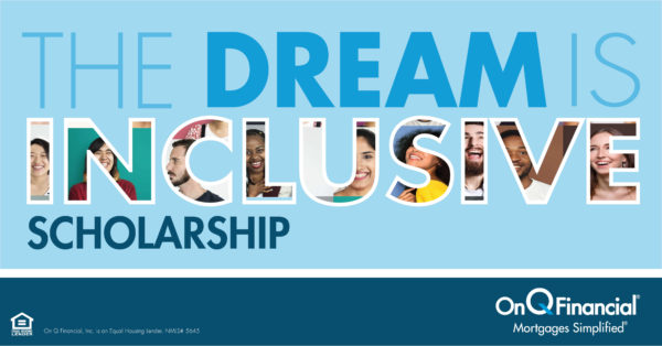 "Graphic text that reads, ""The Dream is Inclusive Scholarship"""